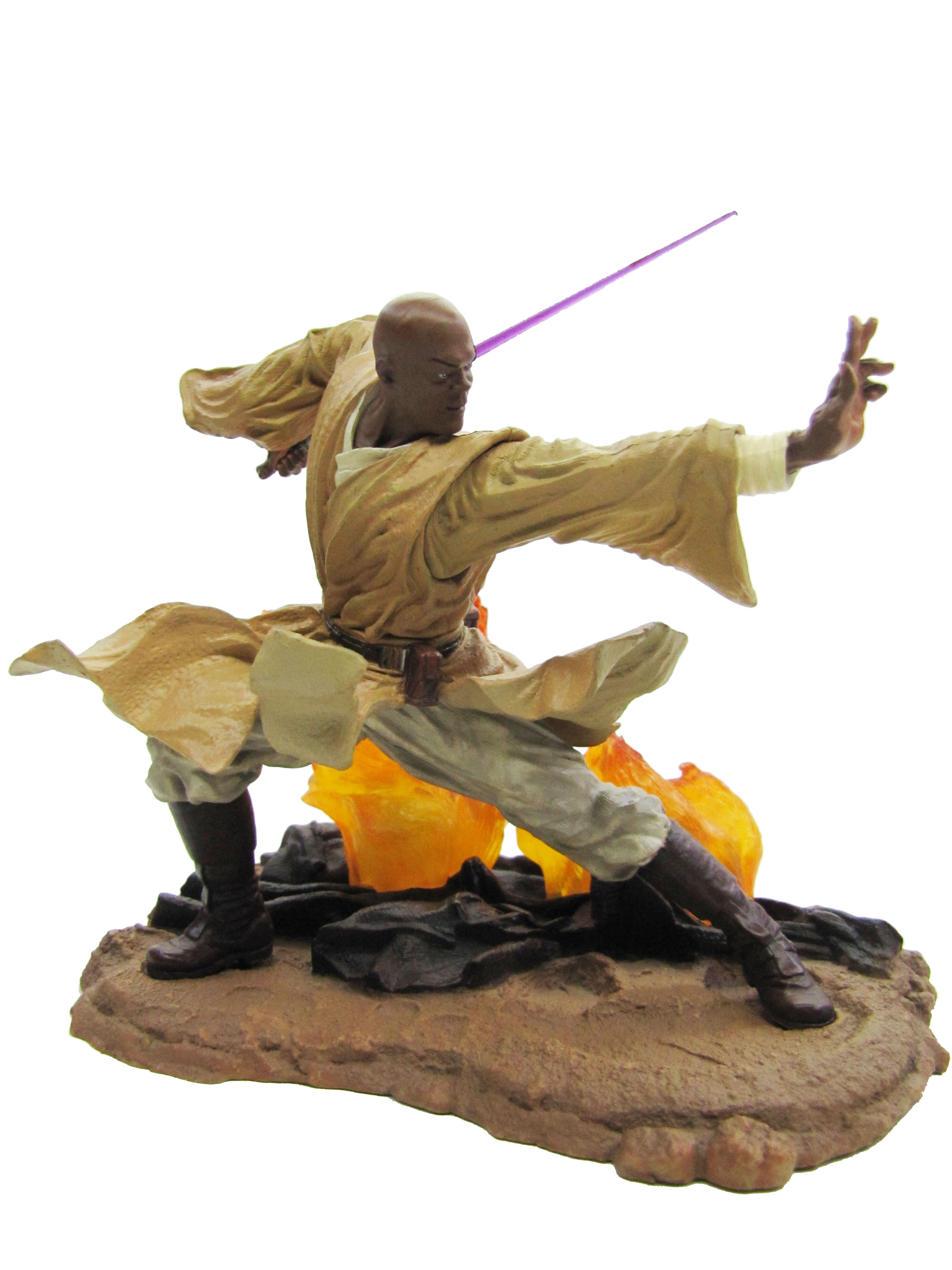 2002 Star Wars Unleashed MACE WINDU Complete